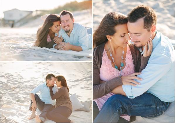 Ann & Patrick's beach portrait session